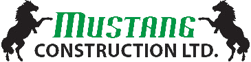 Mustang Construction Logo